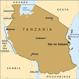 map-tanzania
